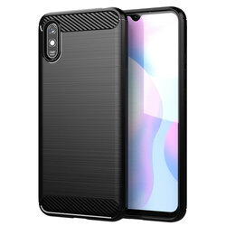 Husa Xiaomi Redmi 9A TPU Carbon - Negru