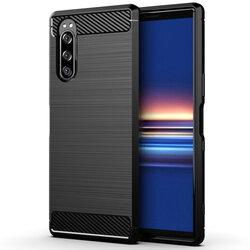 Husa Sony Xperia 1 II TPU Carbon - Negru