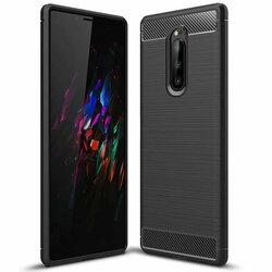 Husa Sony Xperia 1 TPU Carbon Negru