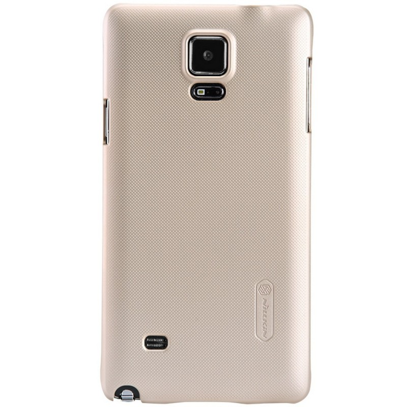 Husa Samsung Galaxy Note 4 N910 / N9100 Nillkin Frosted Gold