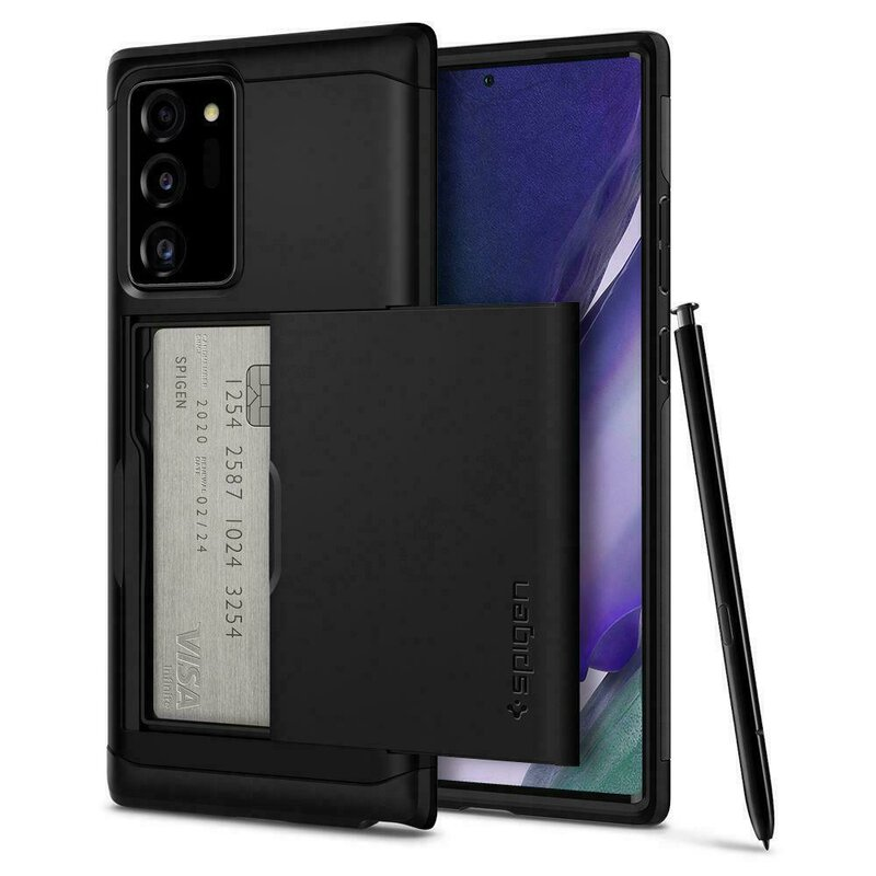 Husa Samsung Galaxy Note 20 Spigen Slim Armor CS - Black