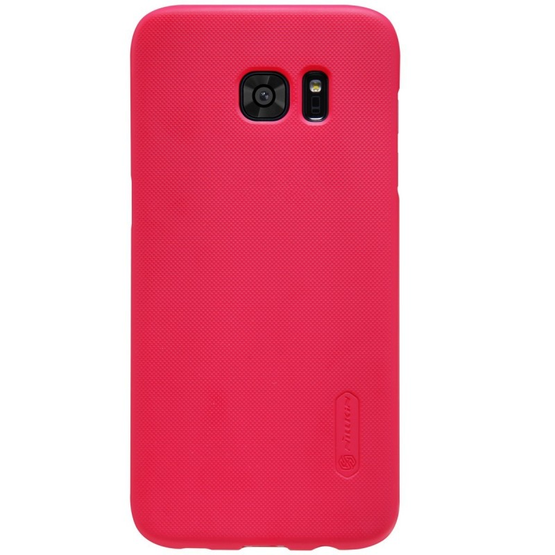 Husa Samsung Galaxy S7 Edge G935 Nillkin Frosted Red