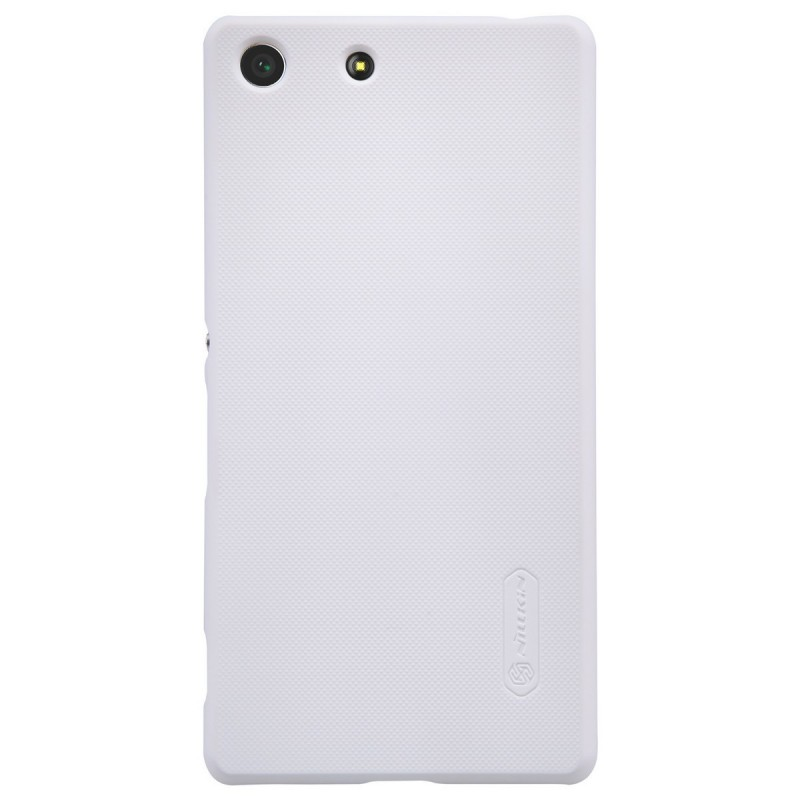 Husa Sony Xperia M5 Nillkin Frosted White