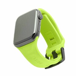 Curea Apple Watch 5 44mm UAG Scout Strap Din Silicon Si Otel Inoxidabil - Verde Deschis