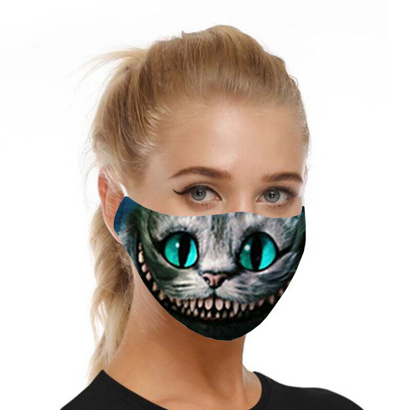 Masca De Protectie Faciala Mobster Universala Cu Doua Filtre PM2.5 Pentru Adulti Nesterila Reutilizabila - Model 10
