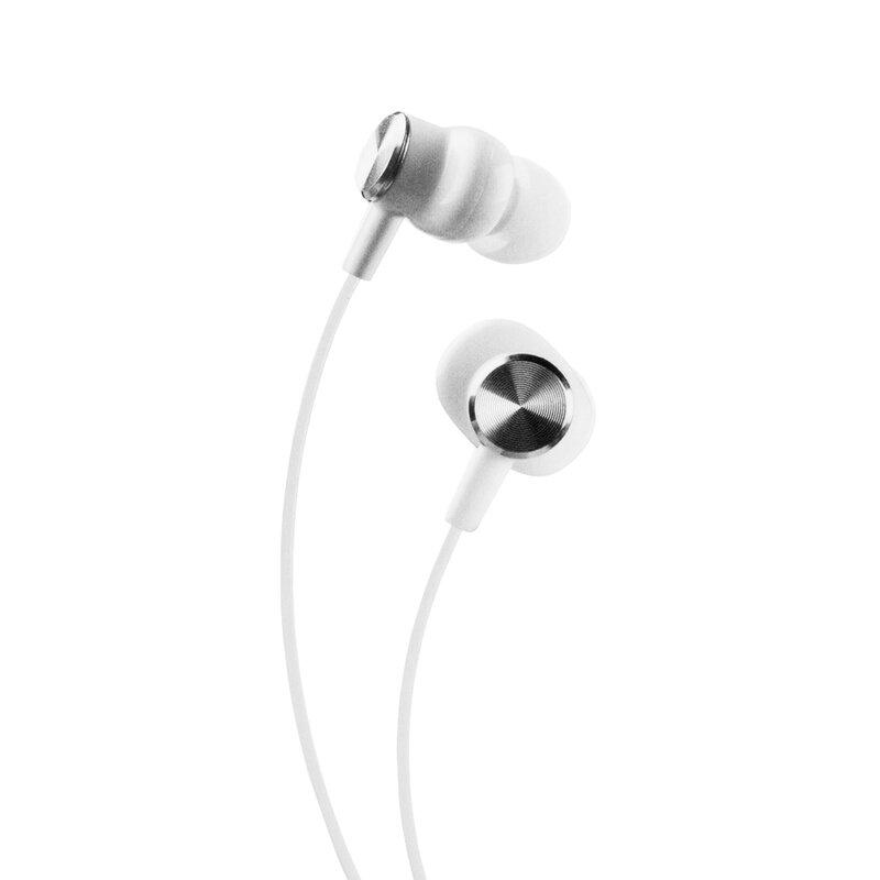 Casti In-Ear Lito A1 Super Bass Stereo Cu Microfon Si Cablu De 3.5mm Si Lungimea De 1.2m - Alb