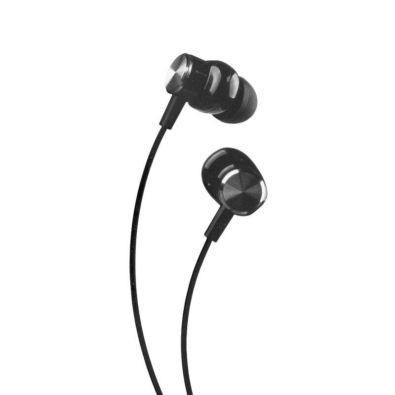 Casti In-Ear Lito A1 Super Bass Stereo Cu Microfon Si Cablu De 3.5mm Si Lungimea De 1.2m - Negru