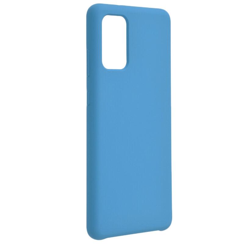 Husa Samsung Galaxy S20 5G Silicon Soft Touch - Bleu
