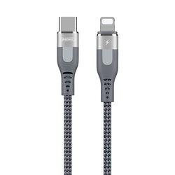 Cablu De Date Remax De La Type-C La Lightning PD Cu Incarcare Rapida De 18W 1m - RC-151cl - Argintiu