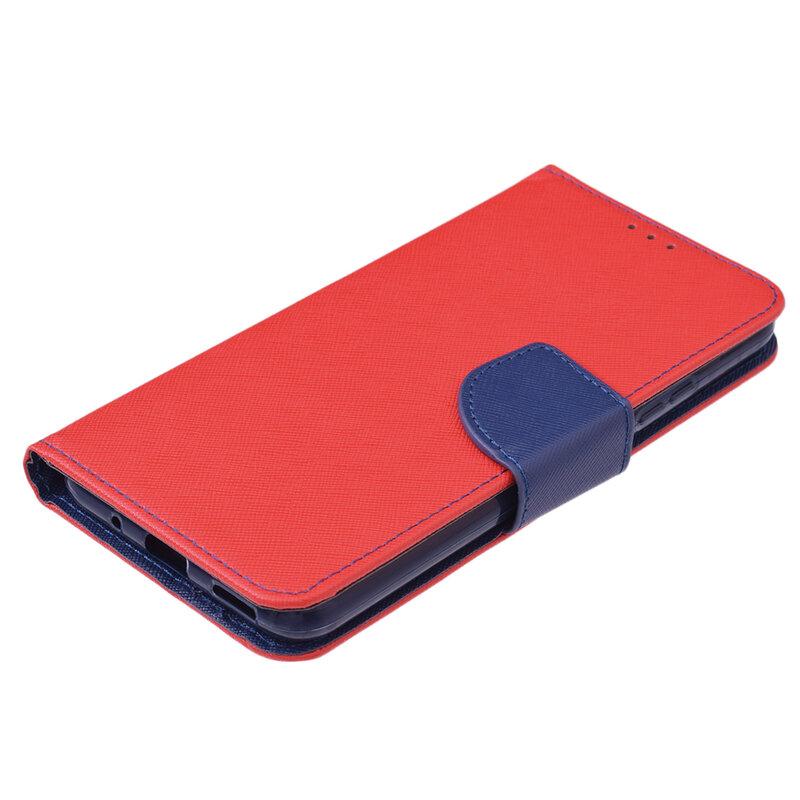 Husa Huawei Nova 5T Flip MyFancy - Rosu