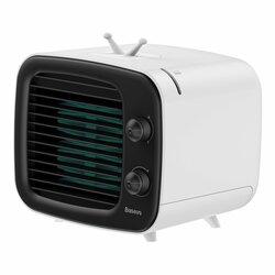Ventilator Birou Baseus Time Desktop Air Cooler Mobile Refrigeration - CXTM-21 - Alb/Negru