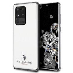 Husa Samsung Galaxy S20 Ultra 5G U.S. Polo Assn. Shiny Collection - Alb