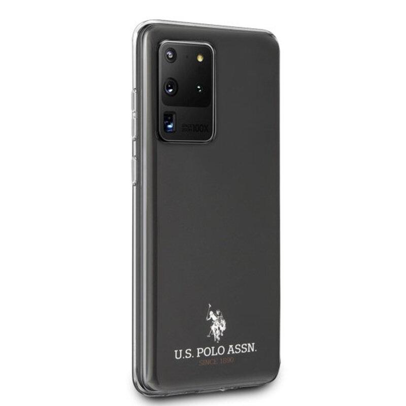 Husa Samsung Galaxy S20 Ultra 5G U.S. Polo Assn. Shiny Collection - Negru