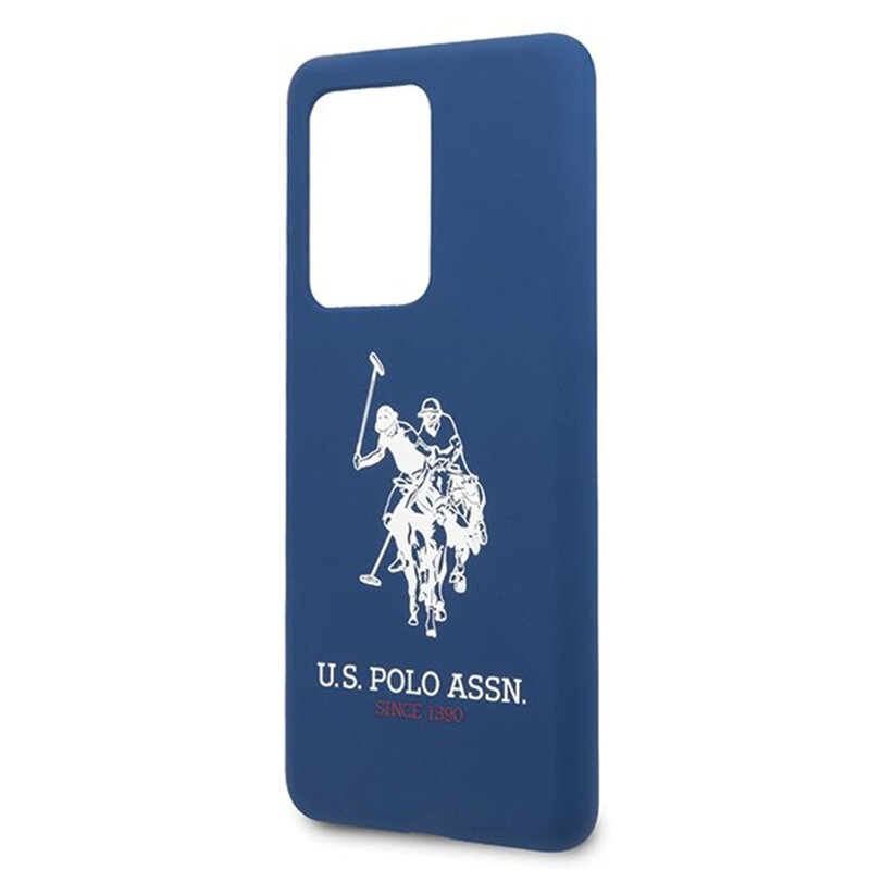 Husa Samsung Galaxy S20 Ultra 5G U.S. Polo Assn. Silicone Collection - Bleumarin
