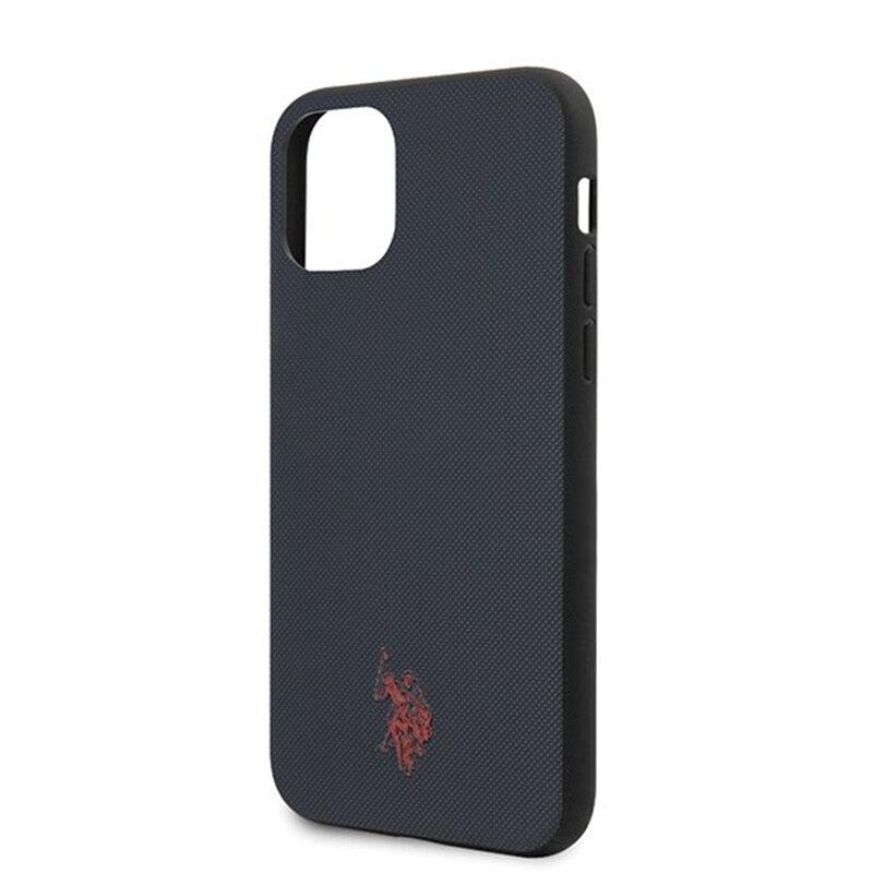 Husa iPhone 11 Pro Max U.S. Polo Assn. Type Collection - Bleumarin
