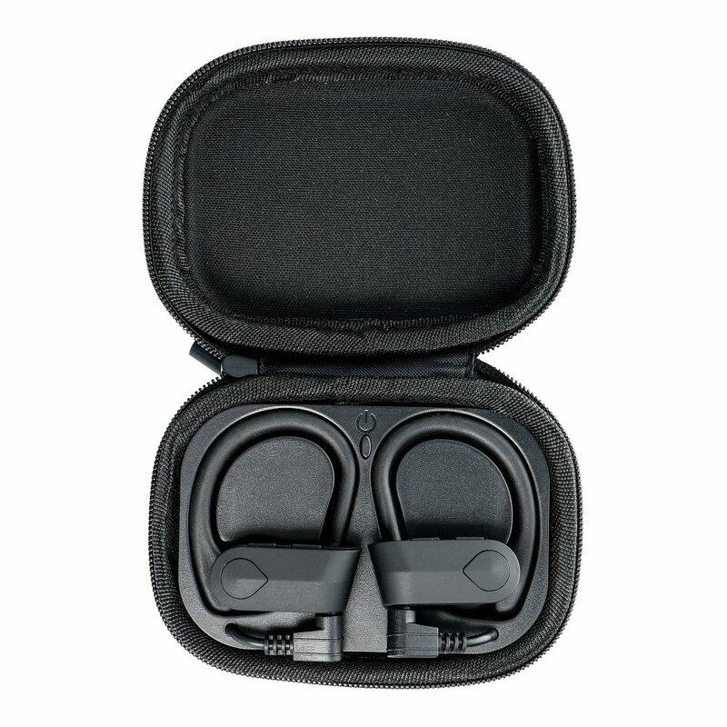 Casti In-Ear Universale Wireless EP-016 TWS Sport Cu Bluetooth Si Microfon Plus Cablu De Incarcare - Negru