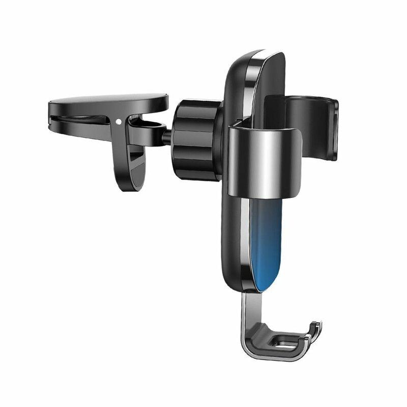 Suport Auto Baseus Glaze Gravity Universal Din Aluminiu Pentru Grila De Ventilatie - SUYL-LG01 - Negru