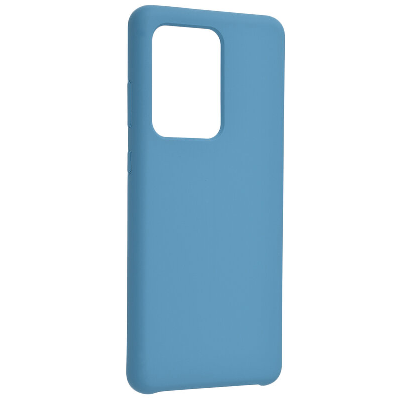 Husa Samsung Galaxy S20 Ultra 5G Silicon Soft Touch - Bleu