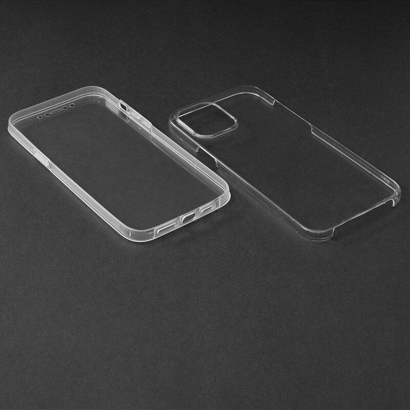 Husa iPhone 12 Pro Max FullCover 360 - Transparent
