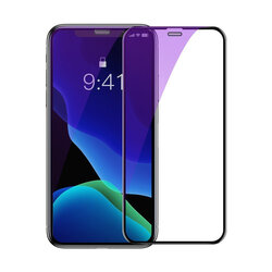 [Pachet 2x] Folie Sticla iPhone XS Max Baseus Full Cover Curved Eye Protective Tempered - SGAPIPH65S-IA01 - Black
