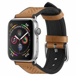 Curea Samsung Galaxy Watch Active 2 44mm Spigen Retro Fit Din Piele Ecologica Si Inchidere Cu Catarama - Maro