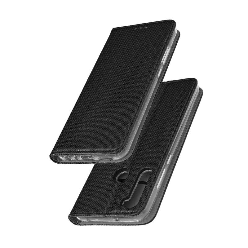 Husa Smart Book Xiaomi Redmi Note 8T Flip - Negru