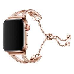 Curea Apple Watch 5 40mm Tech-Protect Chainband - Auriu