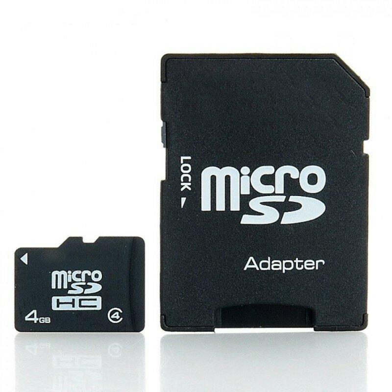 Card Memorie Imro Micro SDHC 4GB Class 10 + Adaptor SD Transfer Date Rapid - Negru