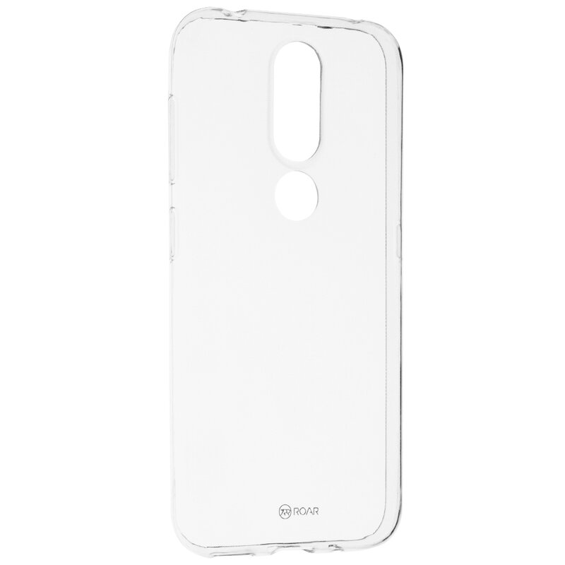 Husa Nokia 4.2 Roar Colorful Jelly Case - Transparent
