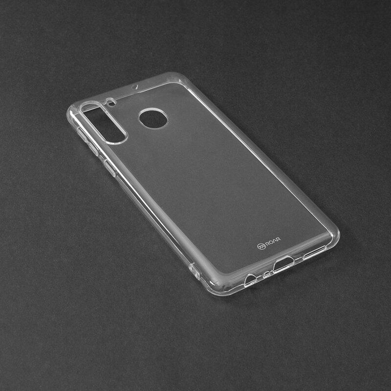 Husa Samsung Galaxy A21 Roar Colorful Jelly Case - Transparent