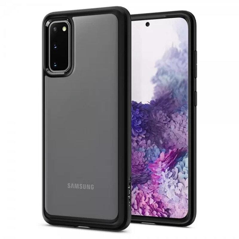 Husa Samsung Galaxy S20 5G Spigen Ultra Hybrid - Matte Black