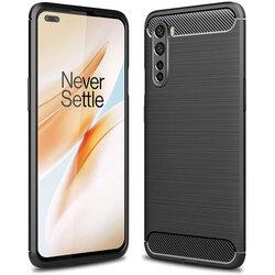 Husa OnePlus Nord 5G TPU Carbon - Negru