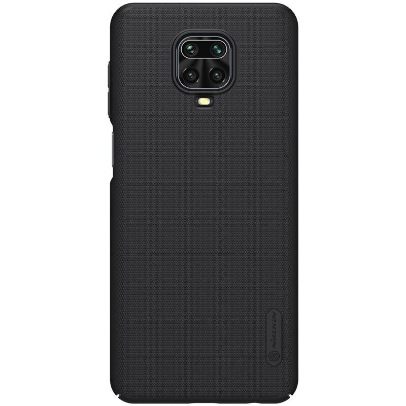 Husa Xiaomi Redmi Note 9 Pro Nillkin Super Frosted Shield - Black