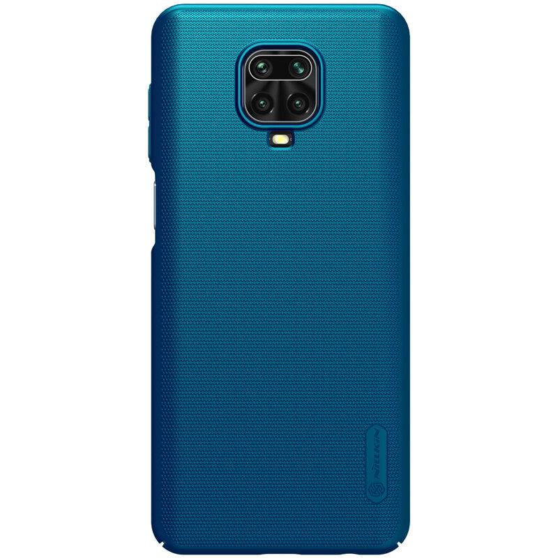 Husa Xiaomi Redmi Note 9 Pro Nillkin Super Frosted Shield - Blue
