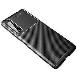 Husa Sony Xperia 1 II Carbon Fiber Skin - Negru