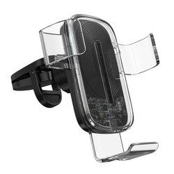 Suport Auto Telefon Baseus Gravity Cu Incarcare Wireless - WXYL-K02 - Transparent