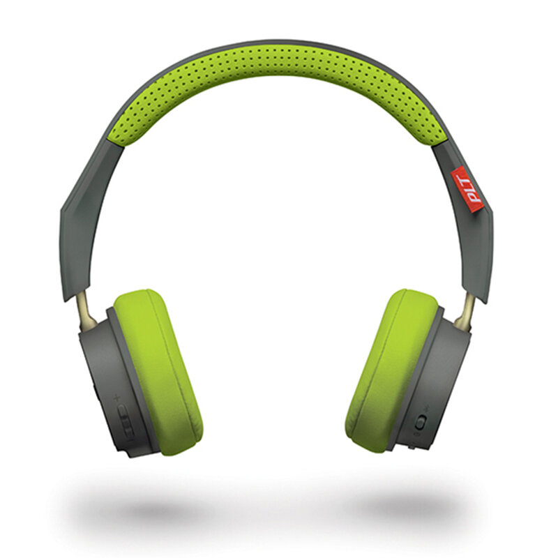 Casti On-Ear Plantronics BackBeat 500 Wireless Cu Bluetooth Si Microfon - Gri/Verde