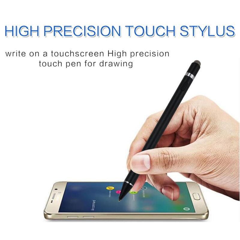 Stylus Pen Activ Superfine Nimb Smart Plus, 2in1, 140 mAh + Cablu incarcare - K811 - Negru