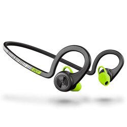 Casti In-Ear Plantronics BackBeat Fit Sport Wireless Cu Bluetooth Si Suport Pentru Gat - Negru/Verde