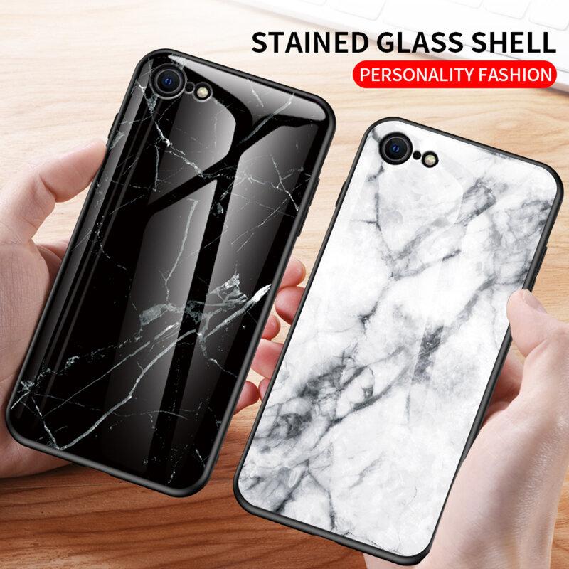 Husa iPhone 7 Color Glass Din Policarbonat Cu Acoperire Lucioasa - Model 3