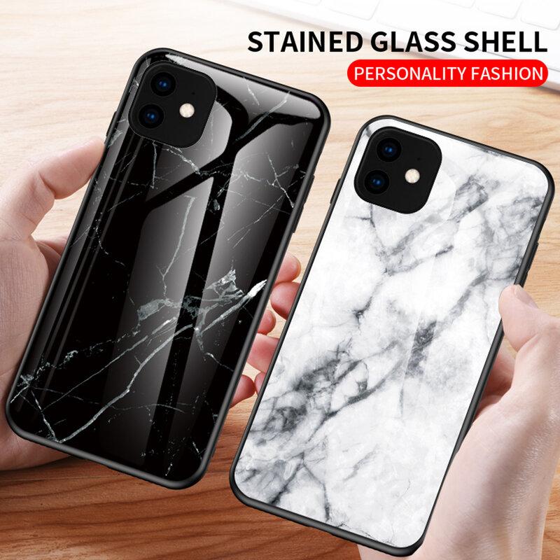 Husa iPhone 11 Color Glass Din Policarbonat Cu Acoperire Lucioasa - Model 3