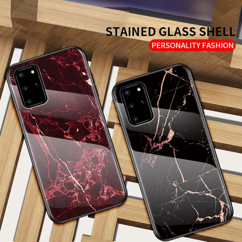 Husa Samsung Galaxy S20 Plus Color Glass Din Policarbonat Cu Acoperire Lucioasa - Model 2