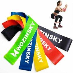 Set Antrenament Wozinsky 5 Benzi De Rezistenta Pentru Exercitii Multiple