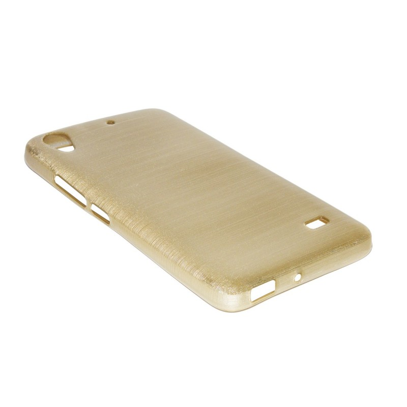 Husa Huawei Ascend G620S Jelly Brush Gold