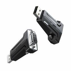 Adaptor Ugreen Convertor De La USB La Interfata DB9 RS-232 (9 Pini) - 80111 - Negru
