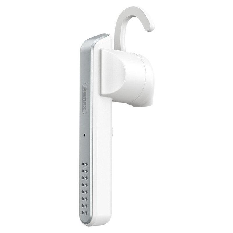 Casca Bluetooth Universala Wireless Remax RB-T35 Cu Microfon - Alb