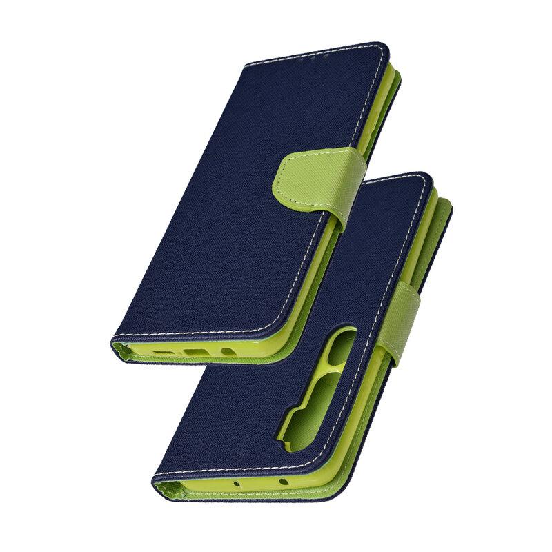 Husa Xiaomi Mi CC9 Pro Flip MyFancy - Albastru