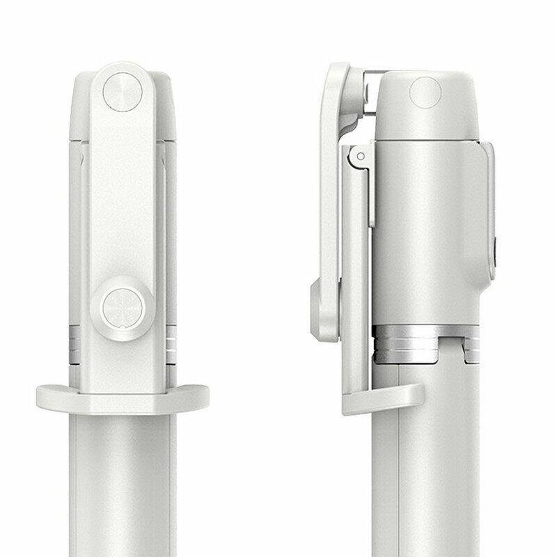 Suport Selfie Stick Remax RL-EP03 Mini-Tripod Bluetooth Cu Telecomanda - Alb