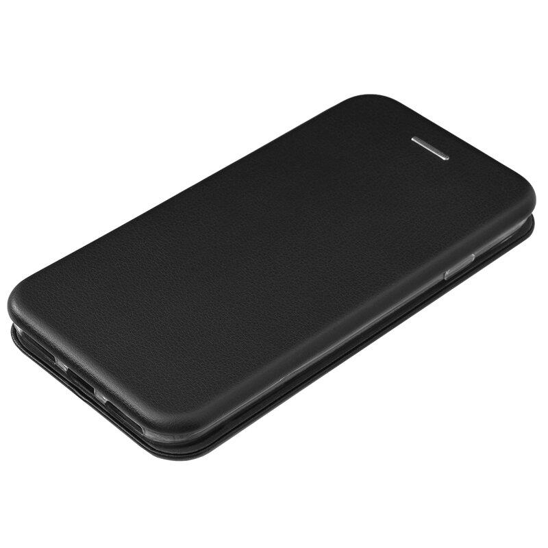 Husa iPhone 8 Flip Magnet Book Type - Black