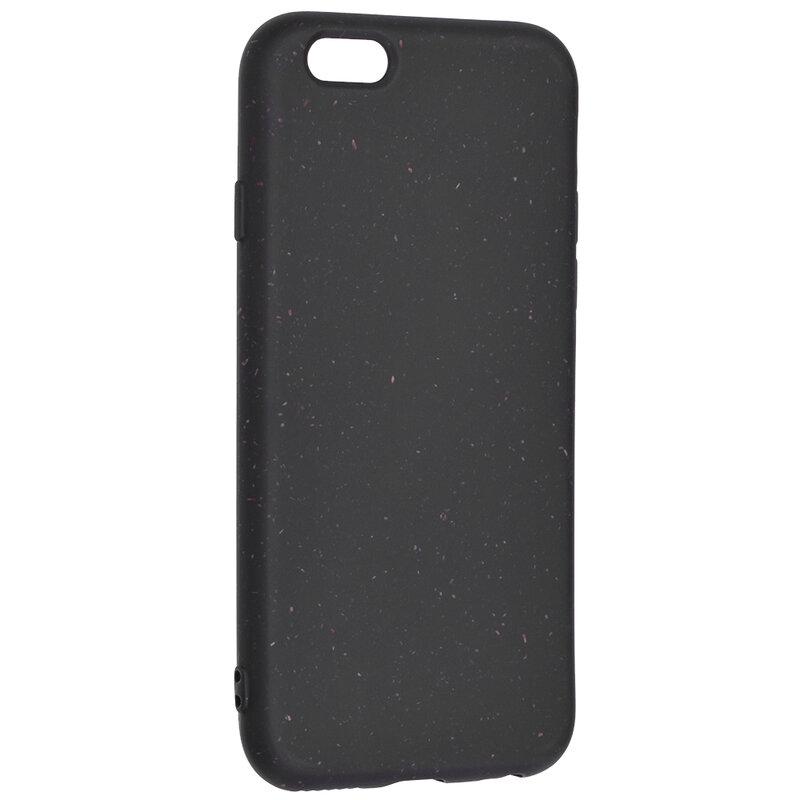 Husa iPhone 6 / 6S Forcell Bio Zero Waste Eco Friendly - Negru